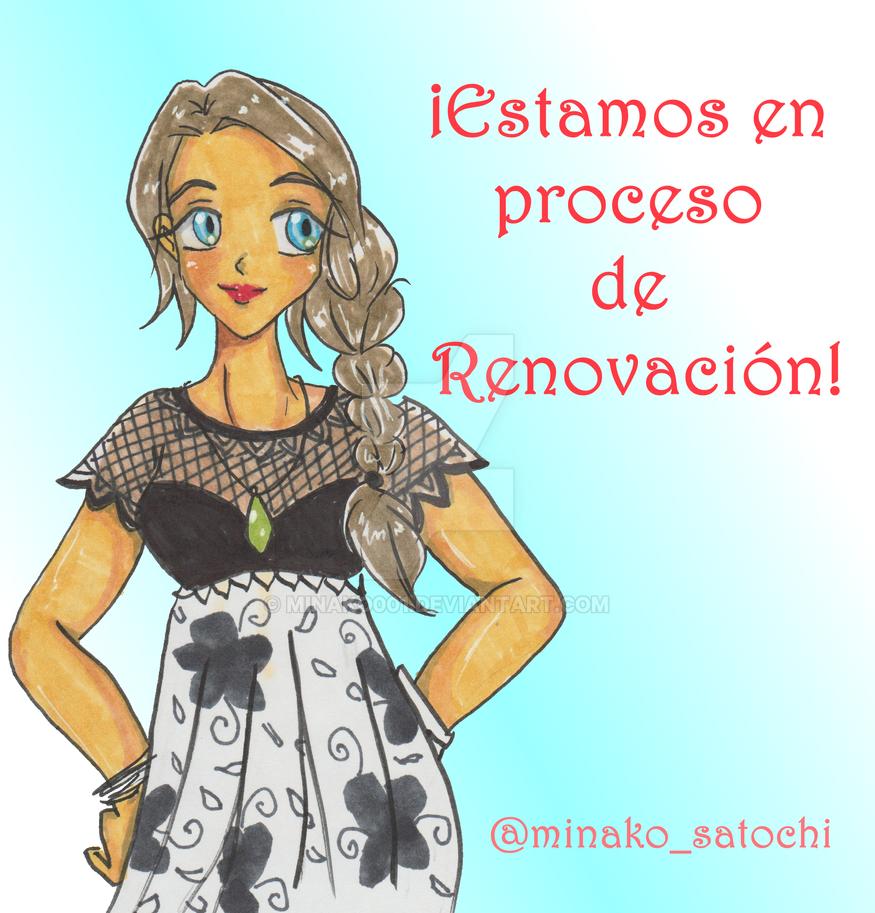 Renovacion de social media by Minako001