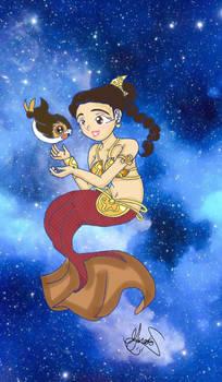mermaid leia