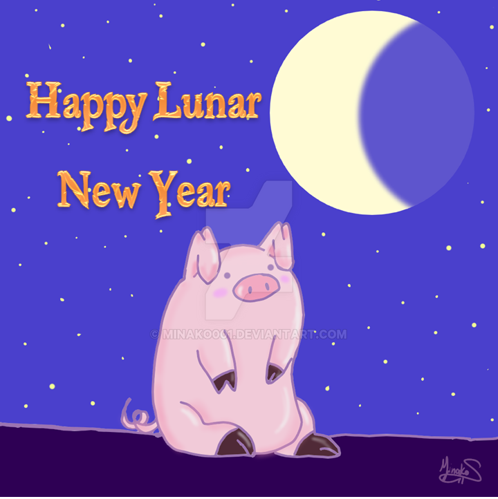 New Lunar Year: Pig by Minako001