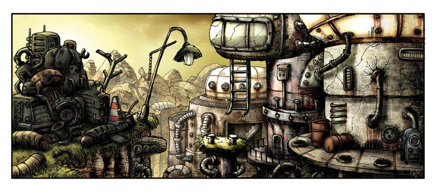 Junk City by LightBlackStudios
