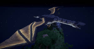 Dragon in Minecraft 3 by Curaxu
