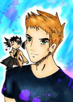 Dean and his faithful guardian by IchiOfTheRainbow