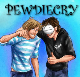 Pewdiecry Sup Bros by IchiOfTheRainbow
