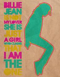 billie jean by karorart