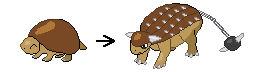 Ankylosaurus fakemon