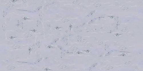 Frozen planet texture by PeteriDish