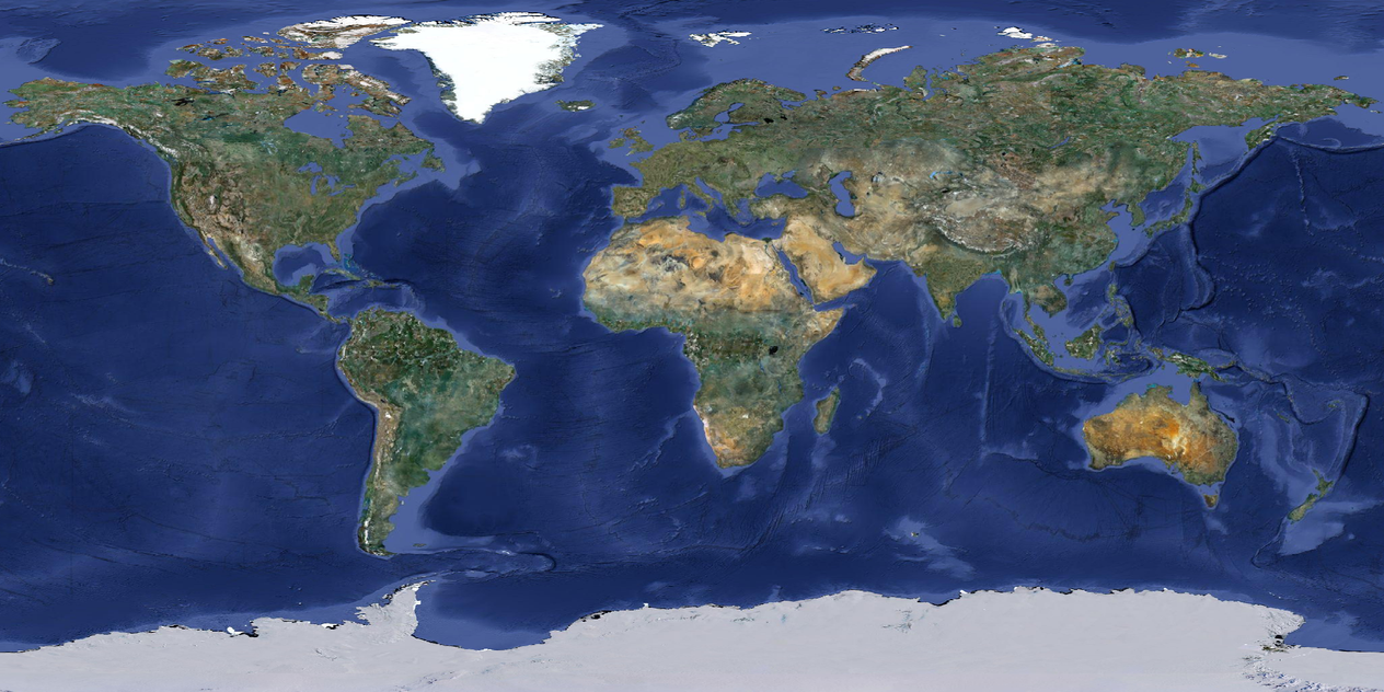 earth and satellite maps - 1200×600