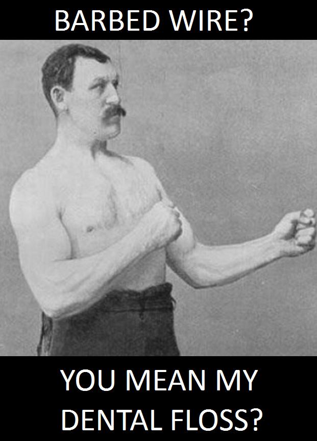 Overly manly celestia
