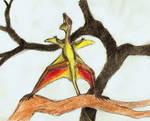 sharovipteryx mating display by PeteriDish