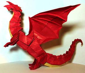 Dragon by PeteriDish