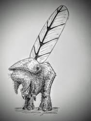 creature by PeteriDish