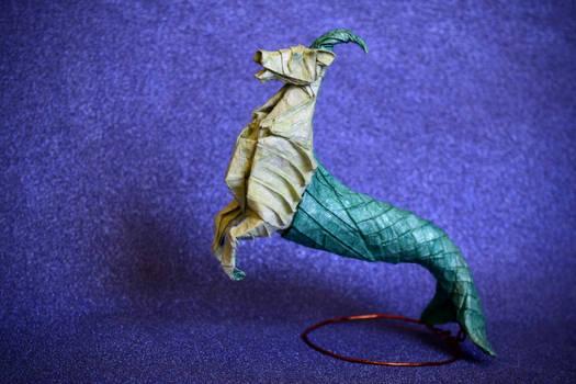 Origami Capricorn