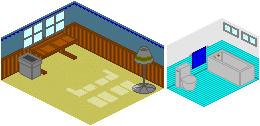 Pixel art inside by Rettro