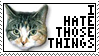 I Hate Those Things Stamp by Rettro