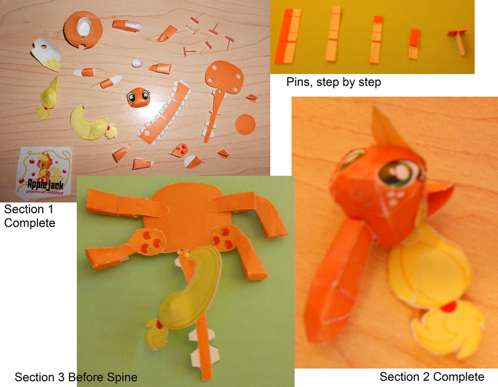 Applejack 2 Papercraft HowTo by Rettro