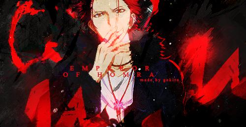 | Suoh Mikoto V.1 | by GekiroIsHere