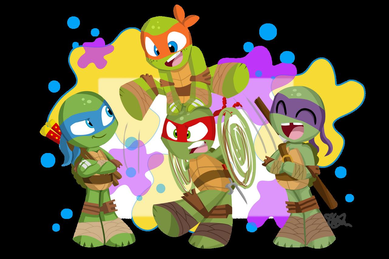 Teenage Mutant Ninja Turtles Babies/Chibi. | Teenage ninja ... |Baby Ninja Turtles Drawings