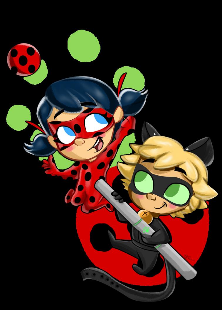 ladybug and chat noir by trujayy on deviantart