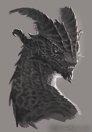 doodling_dragon by HatonoMotom