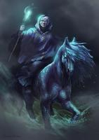 Kelpie Mage - Kingdoms of Myth by HatonoMotom