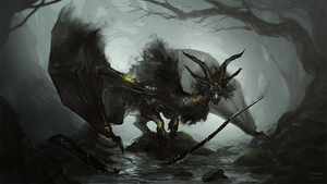 Cursed forest dragon