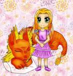 Dragon + Dragon-girl