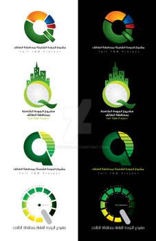 TQM project - Logo set