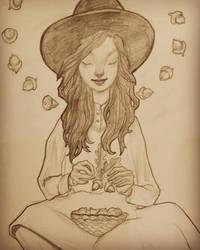 A Little Acorn Witch by LaurenRutledge