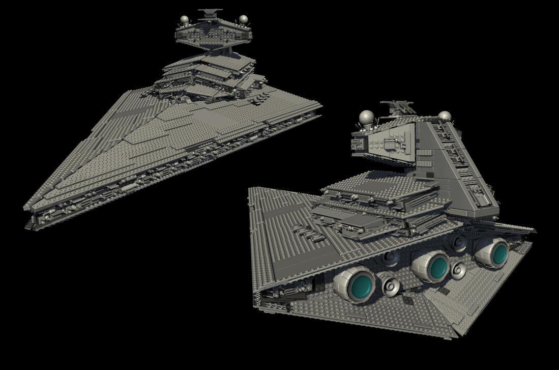 LEGO Imperial Star Destroyer By Brunofournier144 On DeviantArt