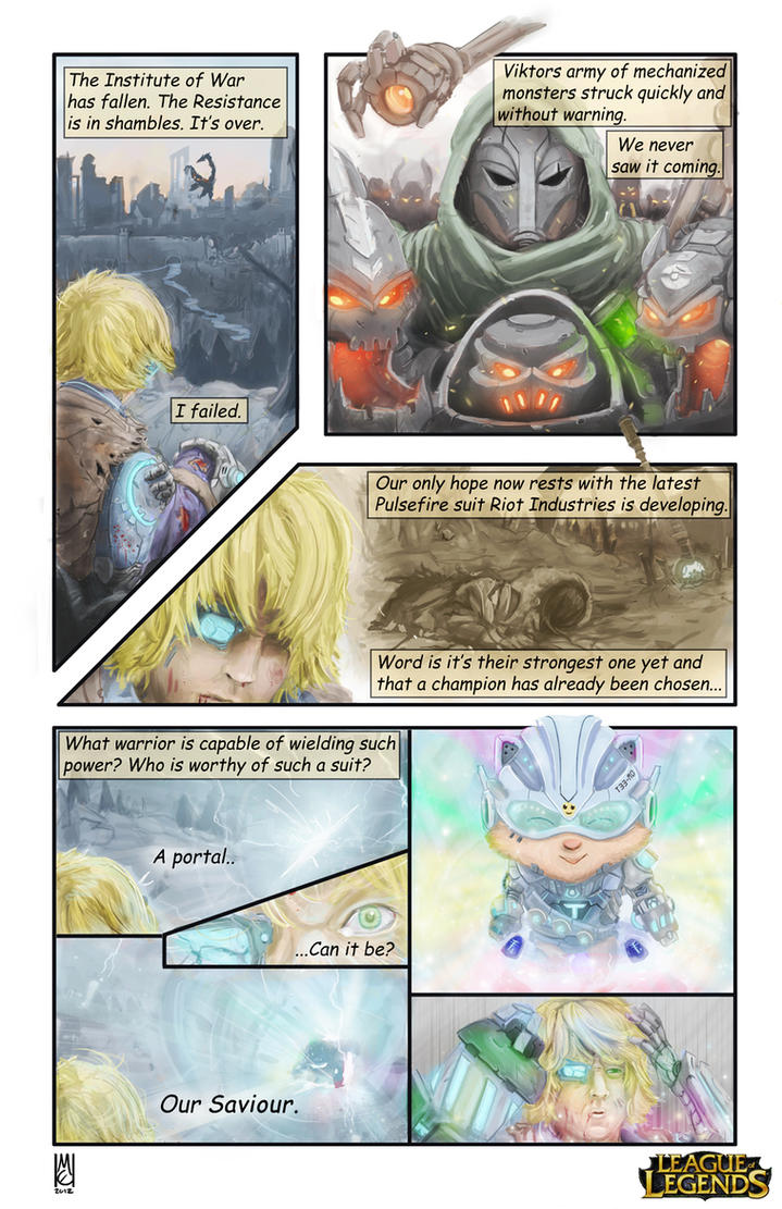 LoL Comic Entry: Rise of the Battlecasts by Whodiss