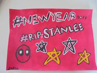 RIP Stan Lee by BloodCreek20