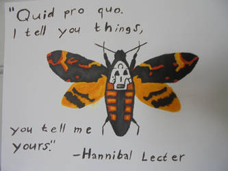 Hannibal Lecter Quote by BloodCreek20