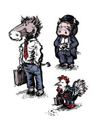 Business Farm Animals