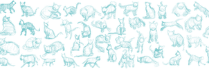 Cat Gestures 8/8/13 by Paleclaw