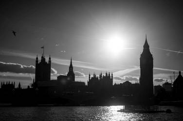 House of Parliament, London by esztervaly