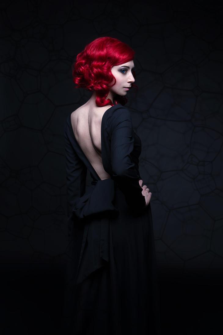 TRANSISTOR original: Red's happy new year dress by MiraMarta on ...