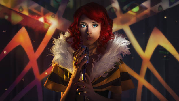 TRANSISTOR:  Hey, Red...    they stole your voice!
