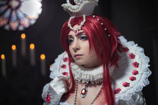 TRINITY BLOOD: Don't worry, Abel, i'll be fine.