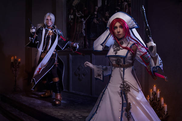TRINITY BLOOD: unexpected turn of history