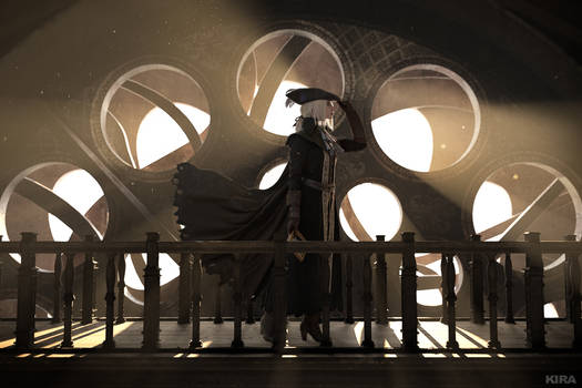 BLOODBORNE:The mistress of star-interpreting clock by MiraMarta