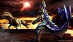 Monster Hunter - Deviljho vs Bracchidios
