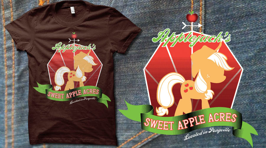 Applejack's Sweet Apple Acres by digitalfragrance