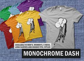 Monochrome Dash by digitalfragrance