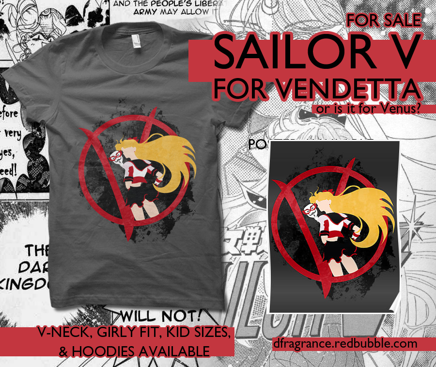 Sailor V for Vendetta by digitalfragrance