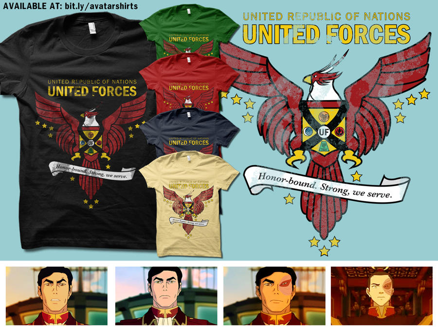 United Forces Insignia by digitalfragrance