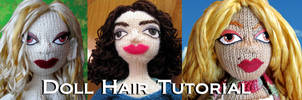 Doll Hair Tutorial by ashesonfire