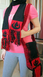 Fire Nation Scarf and Bag