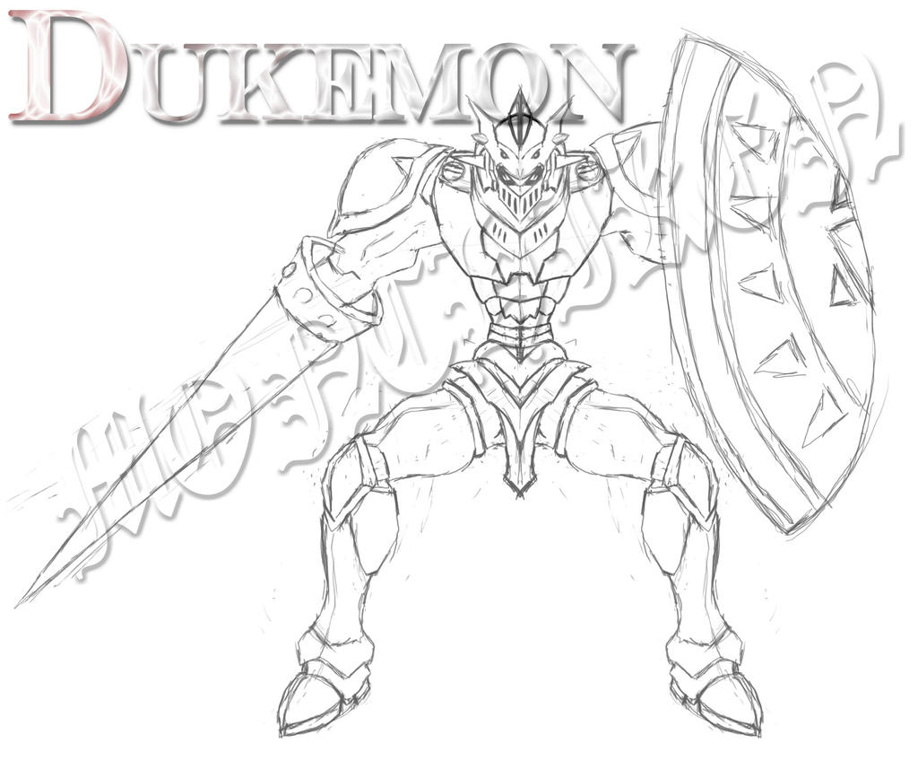 Gallantmon Dukemon by monchiken