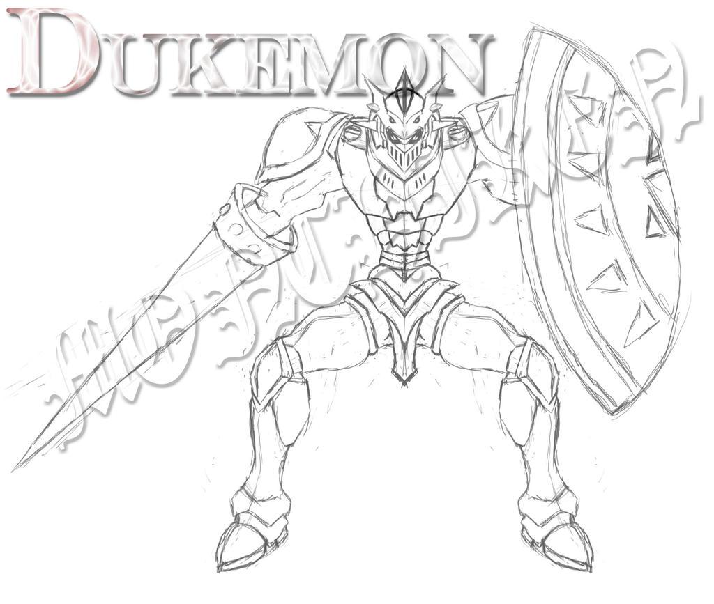 Gallantmon Dukemon by monchiken