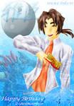 Masaomi and Kibachiyo -color by monchiken